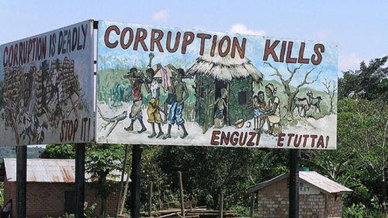 corruption kills